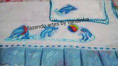 Fazendo artes by Vandinha: fralda grande e de boca pintadas