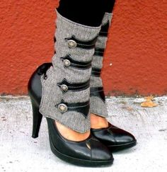 Want the spats from the VS fashion show (no where to be found!) but these are cute too.