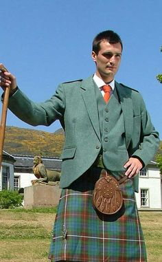 Bespoke Tweed Crail Jacket by Manley Richardson by Scotweb Tartan Mill