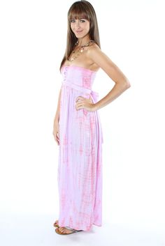 Tied & Dyed Lilac Maxi