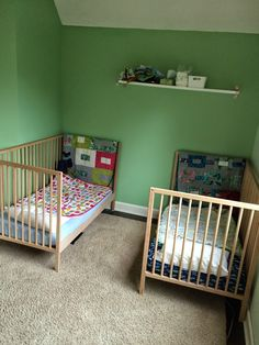 Sniglar Crib Toddler Bed