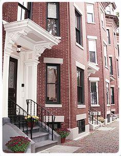 Boston ~ Massachusetts ~ South End Brownstones