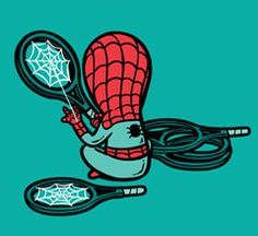 If Superheroes had Part-time Jobs