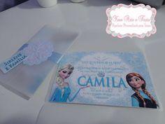 Frozen  http://www.facebook.com/yaraarteefesta  Convite