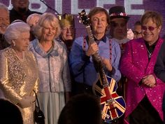 Queen Elizabeth's Diamond Jubilee (2012): TODAY video coverage