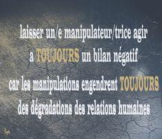 bilan négatif des manipulations