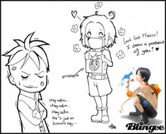 marco ace luffy | Ace and Marco「One Piece」 Image #127826865 | Blingee.com