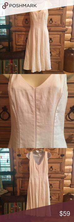 💋NEW LISTING💋Jones New York Linen Dress NWOT NWOT🔸Jones New York Signature🔸Body 100% Linen🔸Lining 100% Cotton Jones New York Dresses