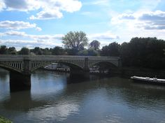 Twickenham bridge on the river Thames