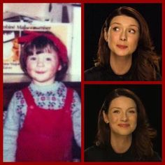 Our Cait as a wee lass. ❤️