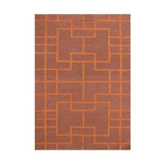 Wildon Home  Andris  Hand-Tufted Red Area Rug