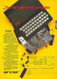 Sinclair ZX81 advertisement from Personal Computing 2-82 (page 2)