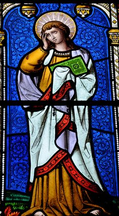 Turkdean All Saints East window possibly 1859 by Thomas Willement -64