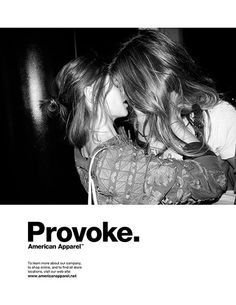 American Apparel Ad Campaign by Nathan Sebakijje, via Behance
