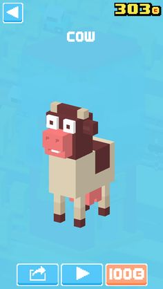 Cow Crossy Road