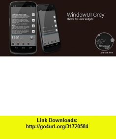 WindowUI Grey , Android , torrent, downloads, rapidshare, filesonic, hotfile, megaupload, fileserve