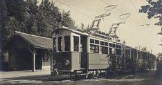 Zürich, Uetliberg, Uto-Kulm-Station 1922 - 1930 Zurich, Train, Zug, Strollers