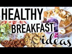 Healthy Breakfast Ideas! Easy + Vegan/Gluten Free! - YouTube