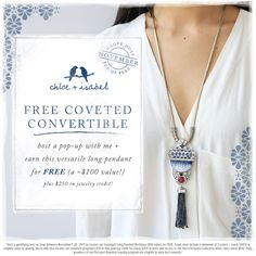 Want to get free jewelry? Book a pop-up with me! Check my C+I Boutique @ www.chloeandisabel.com/boutique/mariamcbaine