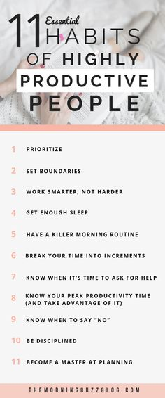 Skyrocket your productivity and master time management with these 11 simple habits all productive people share. I would've saved myself so much time if I implemented these simple tips sooner! Motivation tips Time Management Strategies, Time Management Skills, Time Management Quotes, Planning School, Blogging, Productivity Quotes, Improve Productivity, Habits Of Successful People, Managing People