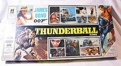 SOLD - VINTAGE 1965 JOHN SANDS JAMES BOND 007 THUNDERBALL BOARD GAME SEAN CONNERY #TOY7 in Toys, Hobbies, Games, Board & Traditional Games, Vintage Manufacture | eBay - SOLD