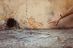 Ernest Zacherevic Funny Street Art in Italy