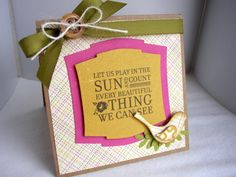 authentique paper & unity stamp company - created by stephanie muzzlin {unity design team member}