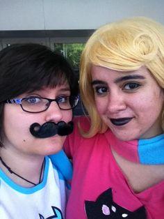 Jane Crocker and Roxy Lalonde from Homestuck, Otakon 2014