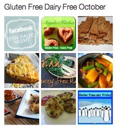 gluten free/dairy free recipes for an entire month. this. is. amazing.