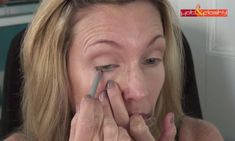 Step 7 - Apply Your Eyeliner | Everyday Makeup Tutorial For Mature Women