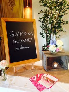 Galloping Gourmet  at the Packington Moor Open Day