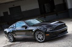 The Sleek Look Of A Roush Mustang