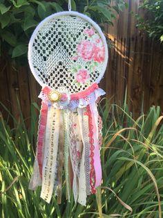 Dream Catcher Lace Bohemian Decor by MintCraftingCompany on Etsy
