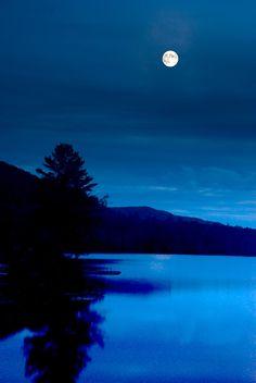 Adirondack Mountains Night Photography Full by TonyBeaverPhoto