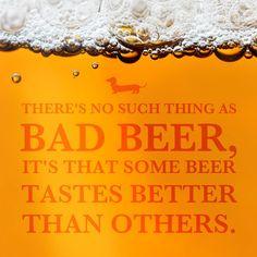Beer is good, craft beer is better. Frankenmuth Brewery, I Like Beer, Beer Quotes, Funny Slogans, Beer Humor, Beer Tasting, Best Beer, Home Brewing, Craft Beer