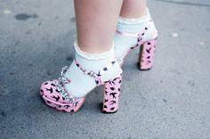 MiuMiu shoes  www.joujouvilleroy.com   London Fashion Week