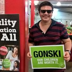 Chris of Cairns wants to see #Gonski fully funded. #proudtobeunion #betterfuture