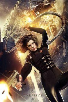 Quis aproveitar o final de semana da tão aguardada estréia do filme Resident Evil 5 para selecionar 40 posters do filme para inspiração.  De acordo com o