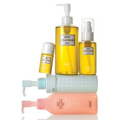 DHC Cleansing Oils!