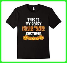 Mens My scary Calculus Teacher costume funny Halloween t shirt 3XL Black - Careers professions shirts (*Amazon Partner-Link)