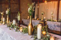 Decor para bodas de ouro