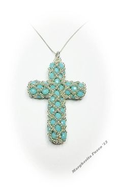 now to find one in english Seed Bead Jewelry, Beaded Jewelry, Handmade Jewelry, Pendant Jewelry, Jewelry Making Tutorials, Beading Tutorials, Beaded Crafts, Jewelry Crafts, Beads And Wire