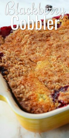 The BEST Blackberry Cobbler that's super easy to make from scratch! A family favorite dessert recipe from Serena Bakes Simply From Scratch. Blackberry Cobbler from scratch recipe is a favorite for dessert from Serena Bakes Simply From Scratch. Summer Dessert Recipes, Healthy Dessert Recipes, Fruit Recipes, Easy Desserts, Baking Recipes, Sweets Recipes, Dessert Simple, Keto, Homemade Desserts