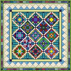 10   Free Online Block of the Month Quilts for 2011