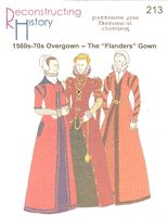 1560s-70s Overgown and Kirtle