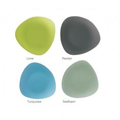 Oceana Seaglass Dinnerware -- I love these colors together