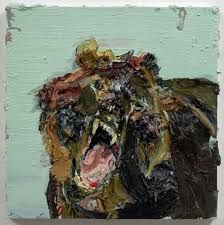 Image result for allison schulnik grizzly bear