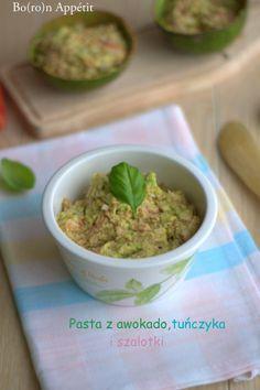 Blog Bo(ro)n Appétit: Pasta z awokado