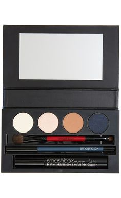 "Everything needed for brighter eyes, all in one palette. Tip: To make eyes appear more awake, add a touch of eyeshadow in ""Pearl"" to inner corners of eyes."