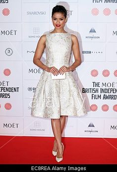 British actress Gugu Mbatha-Raw arrives for the British Independent Film Awards (BIFA) in London, Britain, 07 December 2014. © epa european pressphoto agency b.v. / Alamy